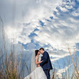 Cloudy by Lodewyk W Goosen (LWG Photo) - Wedding Bride & Groom ( wedding photography, wedding photographers, wedding day, weddings, wedding, wedding photographer, bride )