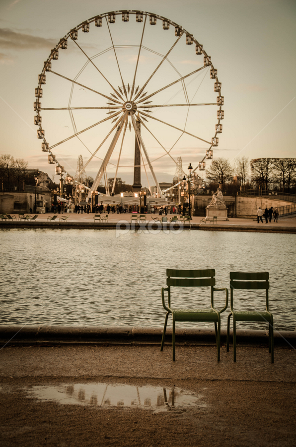 Jardin des Tuileries by Mateo de la Vega - City,  Street & Park  City Parks