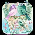 Cute Love Birds Keyboard