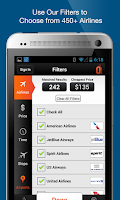 Screenshot of CheapOair Flights, Hotel & Car