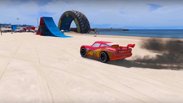 Superheroes Car Stunt Racing Games APK screenshot thumbnail 5