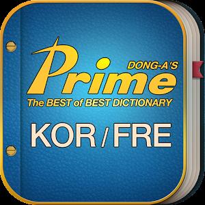 Cover art Prime French-Korean Dictionary