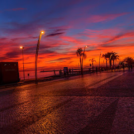 Sunset in portugal by Irene Francis - Novices Only Landscapes