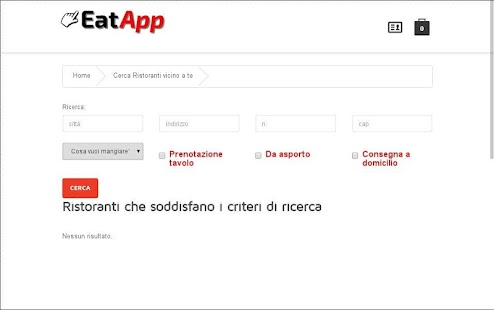 EatApp - screenshot