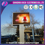 P10 LED Full Color Outdoor Sign Media Message Board P10 Programmable Board Great for images and logos
