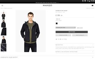 Screenshot of MANGO Man