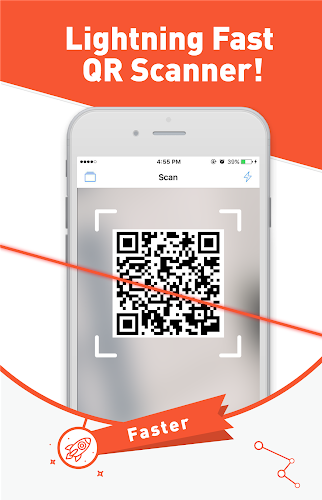 Free QR Scanner/QR Code Reader Android App Screenshot
