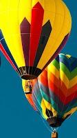 Screenshot of Hot Air Balloon Live Wallpaper