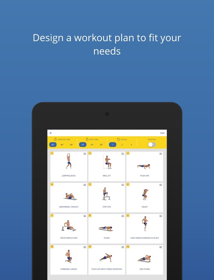 P4P 7 Minute Workout PRO Screenshot 16