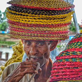 Portrait by Uttam Das - People Portraits of Men ( hats, face, potrait, people, eyes,  )
