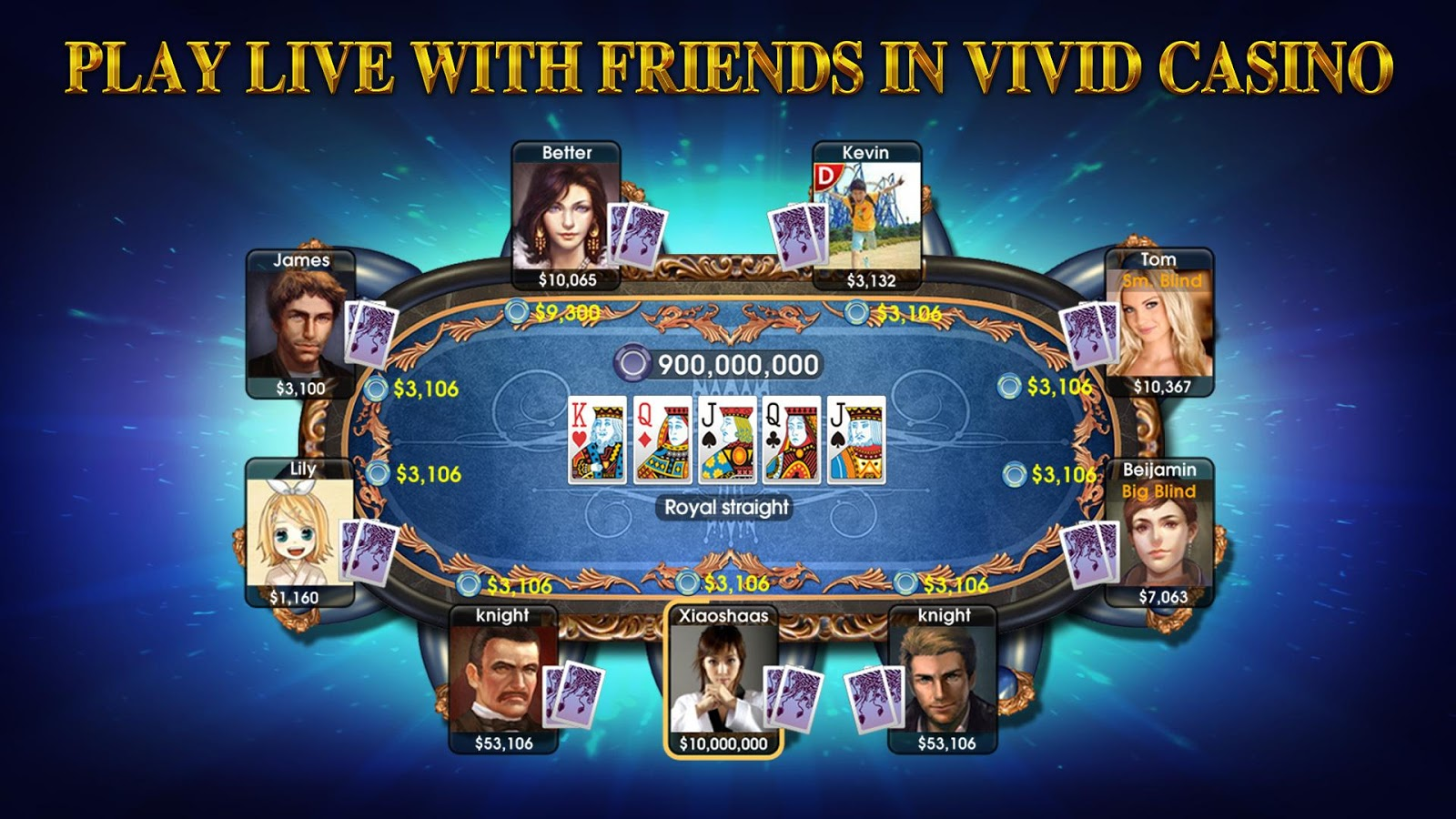 DH Texas Poker - Texas Hold'em Screenshot