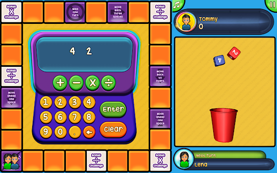 Math Challenger Game apk screenshot