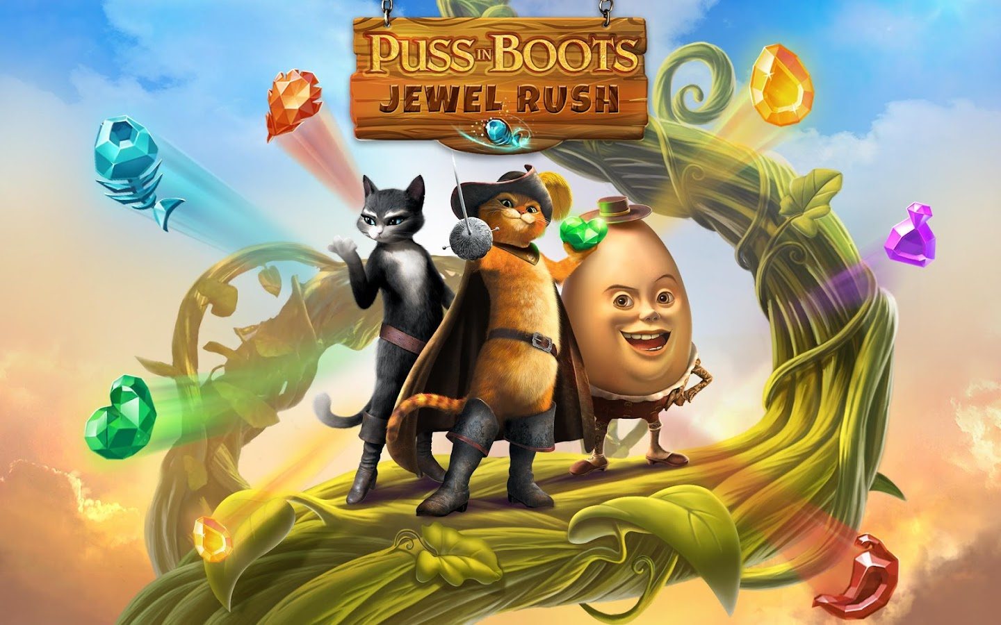 Puss In Boots Jewel Rush Screenshot 6