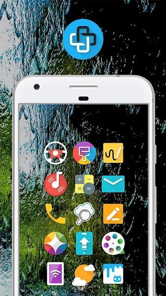 Mate UI - Material Icon Pack- screenshot