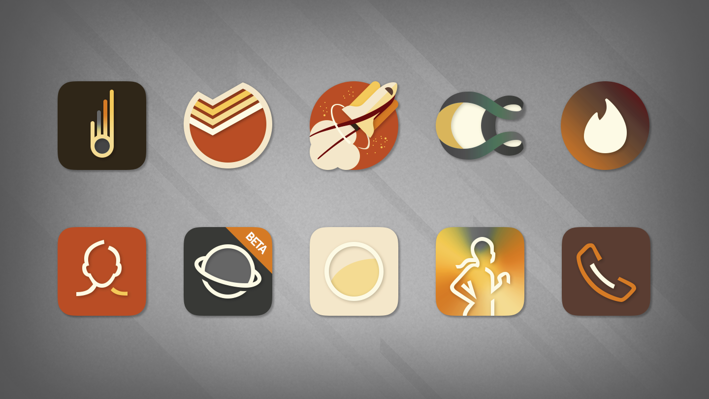 Saturate - Free Icon Pack Screenshot 15