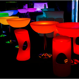 Bangkok bar by Dirk Heyns - Artistic Objects Furniture ( city at night, street at night, park at night, nightlife, night life, nighttime in the city )