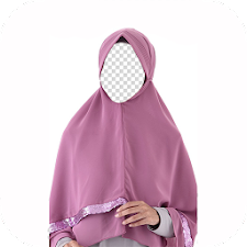 Hijab Syari Photo Frames