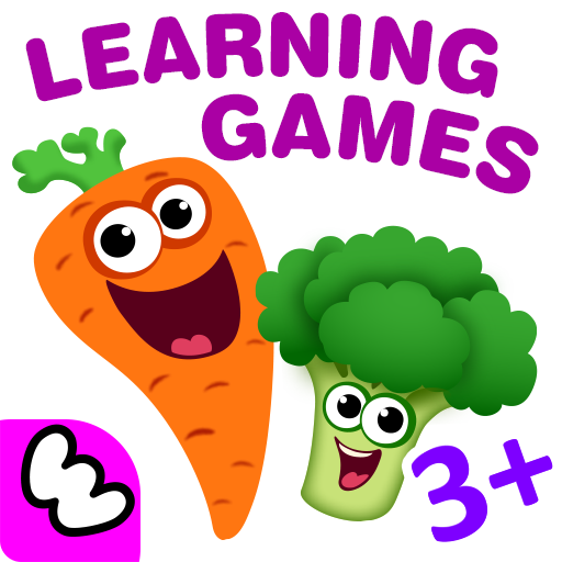 FUNNY FOOD 2! Educational Games for Kids Toddlers! (game)
