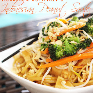 Our Version of Noodles & Co.'s Thai Peanut Saute