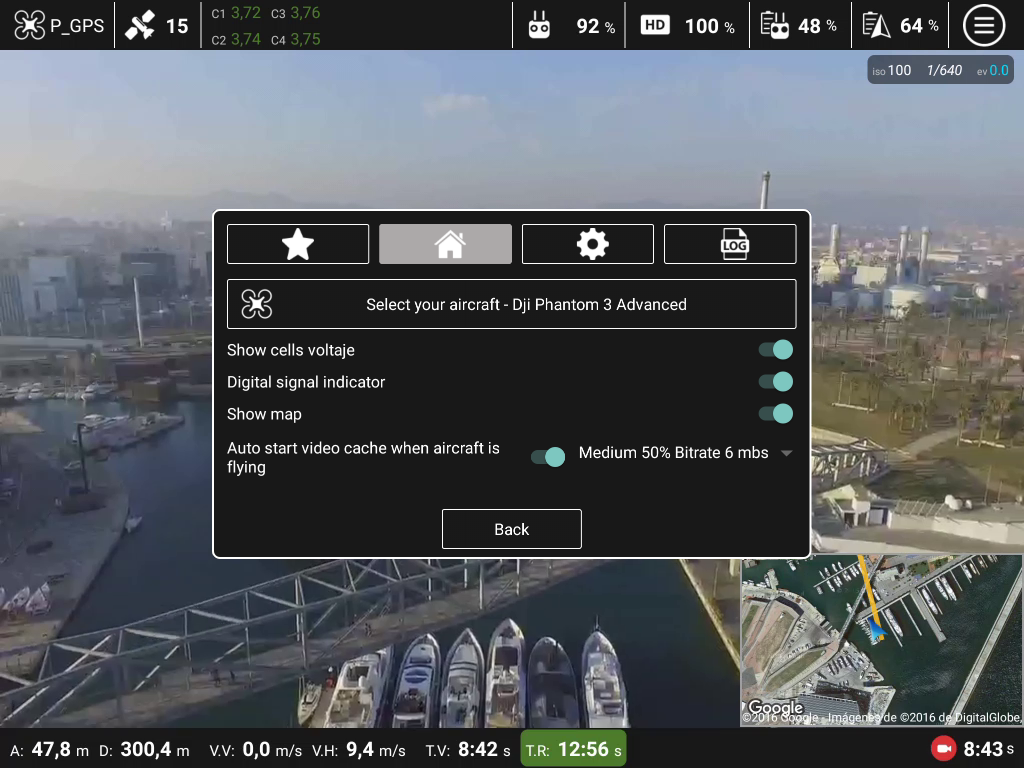 Top Pilot DJI Phantom/Inspire Screenshot 3
