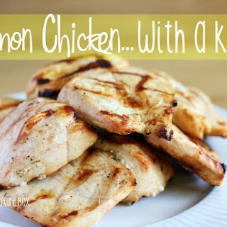 Lemon Chicken with a Kick