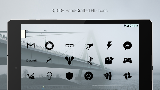 Flight Dark - Flat Icon Theme- screenshot thumbnail