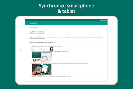 Tablet for WhatsApp APK baixar