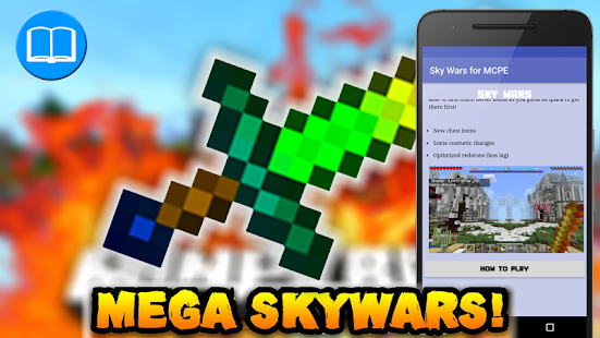 Skywars map for MCPE