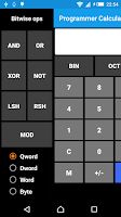 Screenshot of Programmer Calculator