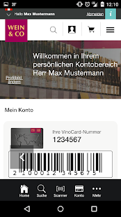 WEIN & CO - screenshot