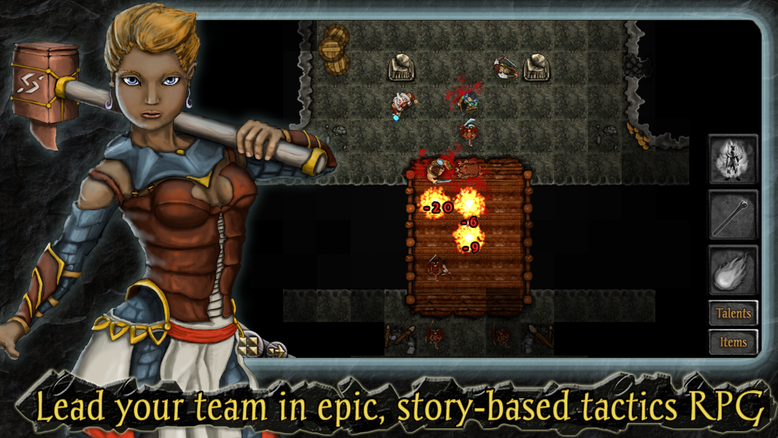 Heroes of Steel RPG Elite Screenshot 2