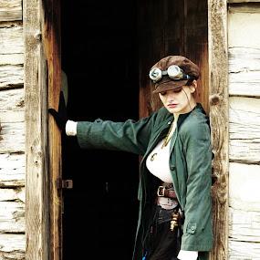 Women Of Steampunk by Jack Powers - People Portraits of Women ( women, steampunk )