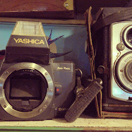 old is gold by Akhil Munjal - Artistic Objects Antiques ( old camera, vintage, camera, antique )