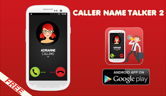 Caller name talker 2 - screenshot