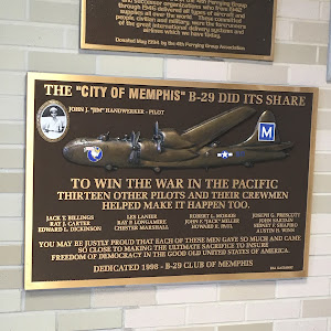 "THE ""CITY OF MEMPHIS"" B-29 DID ITS SHARE John J. ""Jim"" Handwerker – Pilot TO WIN THE WAR IN THE PACIFIC THIRTEEN OTHER PILOTS AND THEIR CREWMEN HELPED MAKE IT HAPPEN TOO Jack T.Billings Ray J. Carter ..."