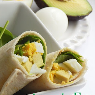 Avacado Egg Wrap