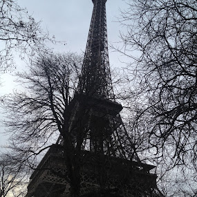 Eiffel Tower by Katie Ehrlich - Instagram & Mobile iPhone ( eiffel tower, paris, france )