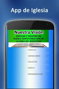 App de Iglesia - screenshot