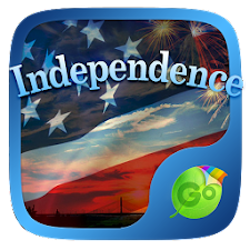 Independence GO Keyboard Theme
