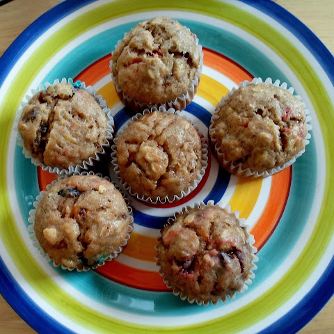 Banana Trail Mix Muffins
