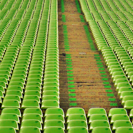 Green Seats by Koh Chip Whye - Artistic Objects Furniture