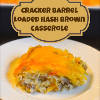 Cracker Barrel Loaded Hash Brown Casserole