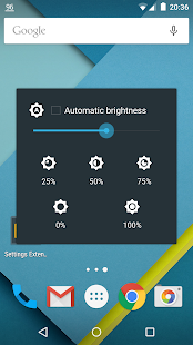 Settings Extended Screenshot