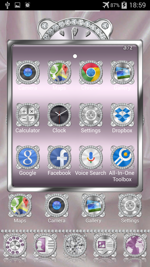 Brilliant Theme Apex Nova ADW Screenshot 2