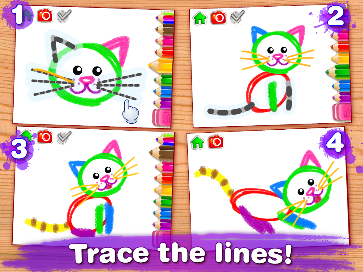 Drawing for Kids & Toddler PRO Screenshot 7