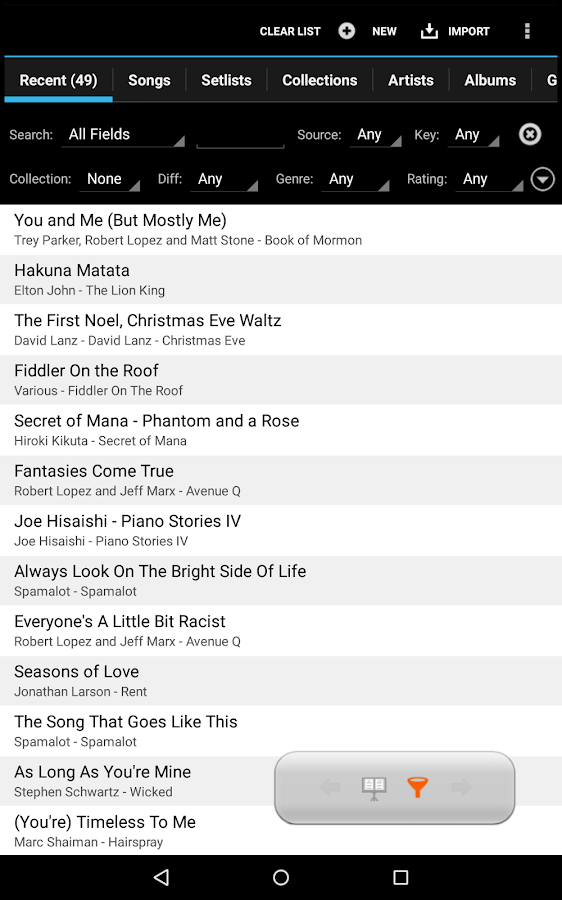 MobileSheetsPro Music Reader Screenshot 8