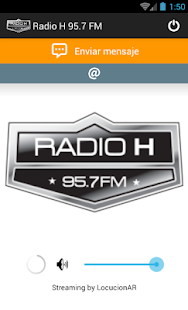 Radio H 95.7 FM - screenshot