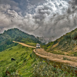On The Way by Subrata Chowdhury - Landscapes Travel ( travel )