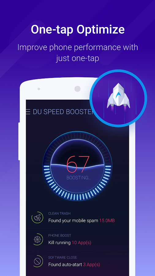 DU Speed Booster & Cleaner Screenshot 0