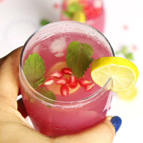 Pomegranate Mint Lime Juice